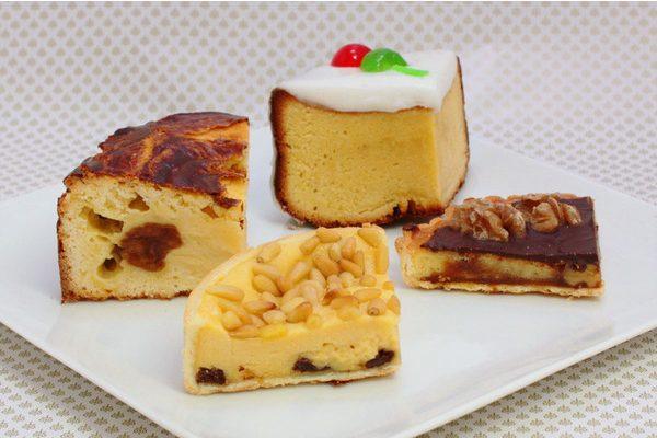ホールケーキ4種・4ピースセット